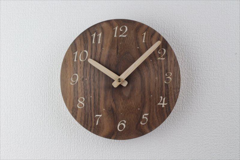 掛け時計 直径18cm Wa18AR-57