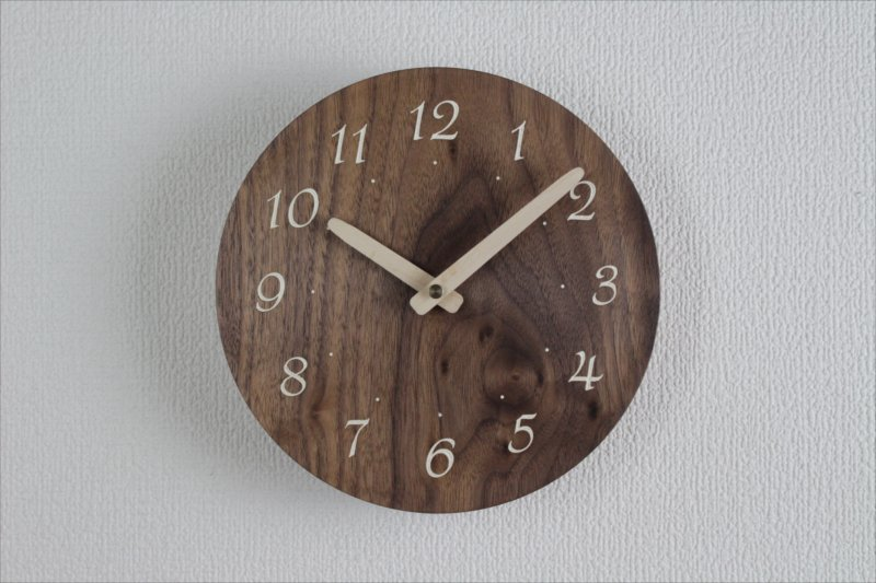 掛け時計 直径18cm Wa18AR-66