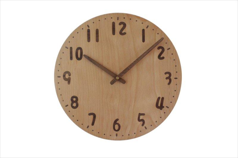 掛け時計 直径30cm Wa30AU-142