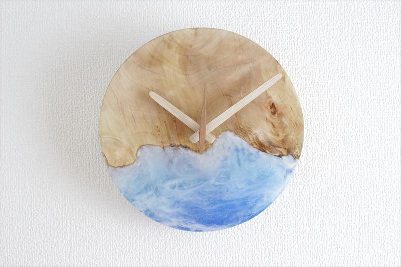 掛け時計 直径21cm Wa21resin-02