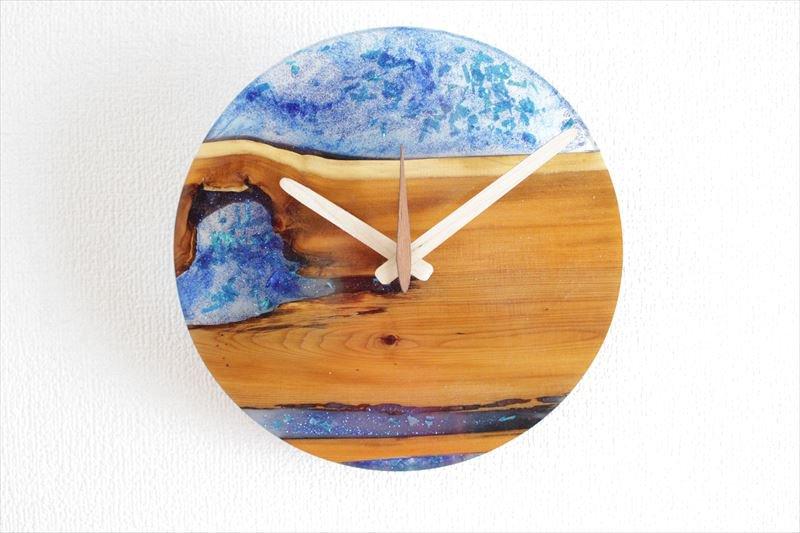 掛け時計 直径21cm Wa21resin-03