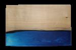 レジンの表札 ブルー blue-001