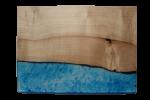 レジンの表札 ブルー blue-004