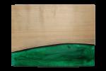 レジンの表札 ブルー green-001