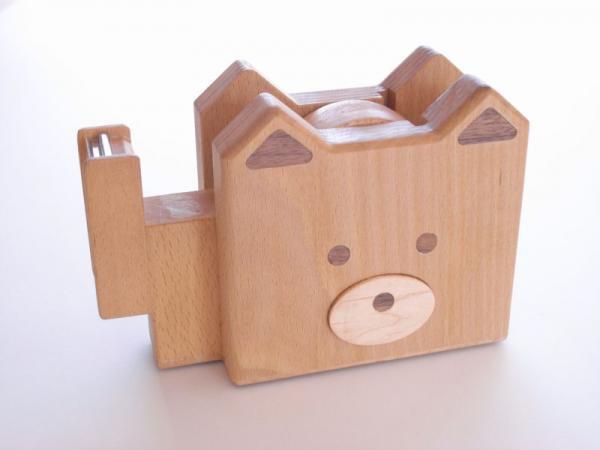 犬のテープカッター チロ