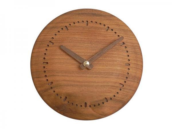 木の時計 直径16cm Wa16N-02