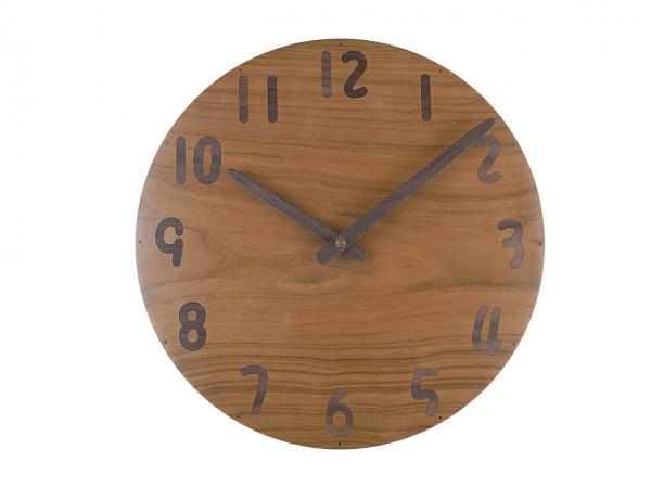 木の時計 直径27cm Wa27AU-23