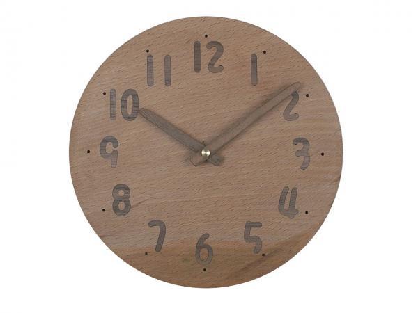 木の時計 直径20cm Wa20AU-08