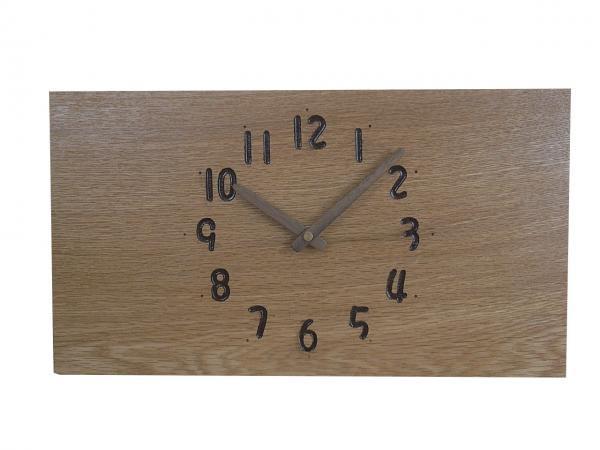 四角い掛け時計 幅36cm Wa36AB-15