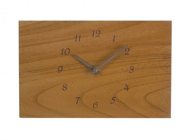 四角い掛け時計 幅26cm Wa26AB-02