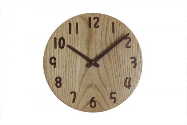 木の時計 直径27cm Wa27AU-32 ME