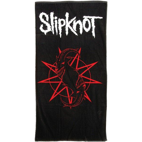 slipknot logo beach towel バンドグッズ ビーチタオル バンドT