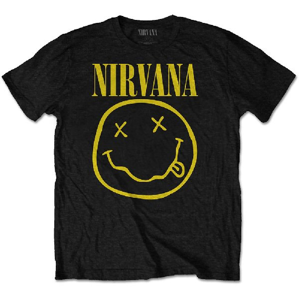 NIRVANA Smile One Sided, Tシャツ