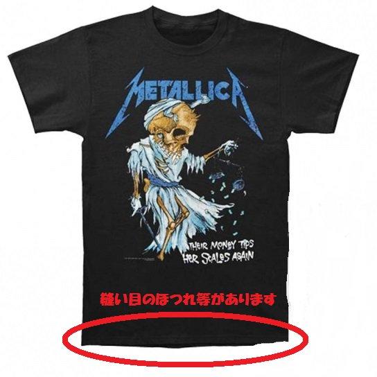 【即納】METALLICA Doris, アウトレットTシャツ