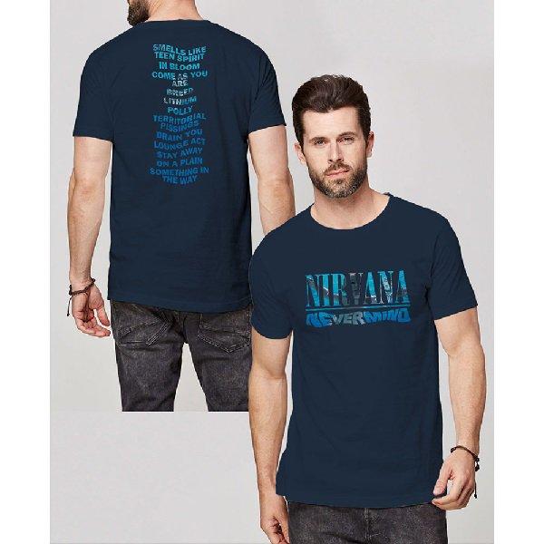 NIRVANA Nevermind Album Play List, Tシャツ