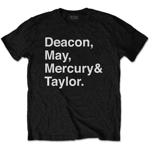 QUEEN Helvetica Band, Tシャツ