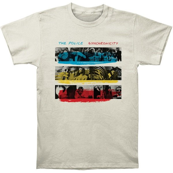 【即納】THE POLICE Synchronicity Fitted, Tシャツ