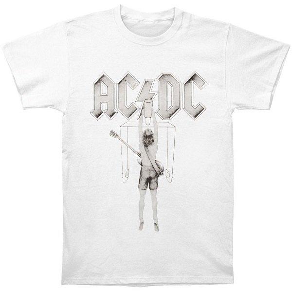 【即納】AC/DC Flick Of The Switch Wht, Tシャツ