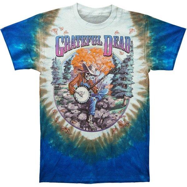 【即納】GRATEFUL DEAD Banjo Tie Dye, Tシャツ