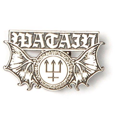 【即納】WATAIN Winged Logo Cast Badge, バンドグッズ(キャストバッジ)