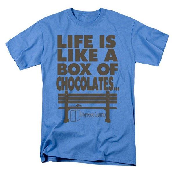 【即納】FORREST GUMP Life, 映画Tシャツ