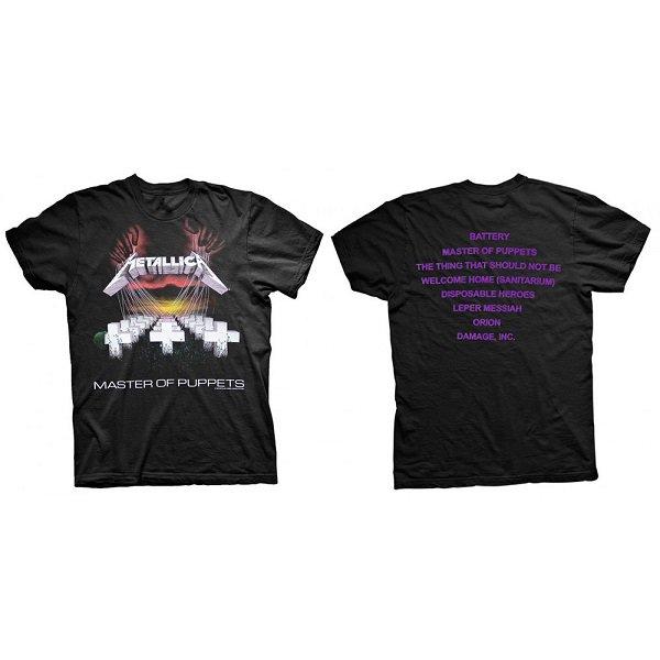 【即納】METALLICA Master Of Puppets, Tシャツ