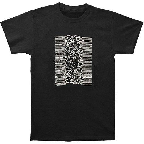JOY DIVISION Unknownpleasures Blk, Tシャツ