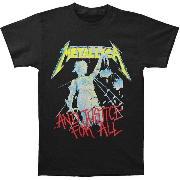 【即納】METALLICA Justice, Tシャツ