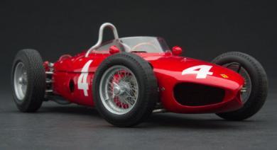 エグゾト GPC97207 1/18 フェラーリ Tipo 156/120° シャークノーズ #4 ウィナー イギリスGP 1961 Exoto F1 トリップス 限…