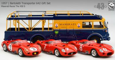 エグゾト 1/43 マセラティ Bartoletti Transporter 642 Gift Set トランスポーター 限定品
