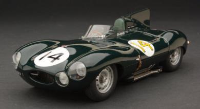 エグゾト RLG88001C 1/18 ジャガー Dタイプ ショートノーズ #14 ルマン24時間 1954 Exoto Jaguar D-Type Tony Ro…