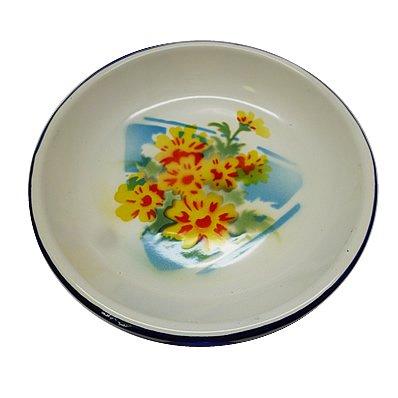 皿 黄色い花