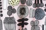 (新品)マリメッコ ファブリック PUUTARHURIN PARHAAT(プータルフリン パルハート)ピンク