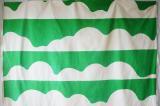 タンペラ ヴィンテージファブリック スペース I グリーン(151×149)
