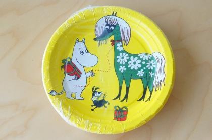 ムーミンの紙皿(10枚パック)