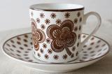 GUSTAVSBERG グスタフスベリ Flower コーヒーカップ&ソーサー【106085711】