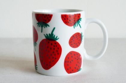 (廃盤)marimekko マリメッコ mansikka マンシッカ マグカップ