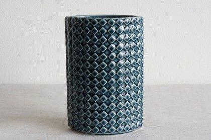 ARABIA アラビア Harlekiini フラワーベース(花瓶)KAARINA AHO(ブルーグレー)