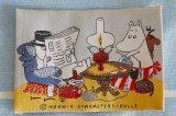 ムーミンのヴィンテージ 布製タグ・ワッペン BULLS(ムーミンパパ・ムーミンママ)