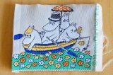 ムーミンのヴィンテージ 布製タグ・ワッペン BULLS(ムーミンとボート)
