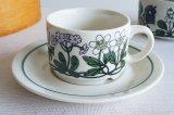 ARABIA アラビア Flora フローラ コーヒーカップ&ソーサー【130366952】