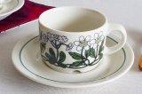 ARABIA アラビア Flora フローラ コーヒーカップ&ソーサー【130633866】