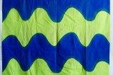 (希少)MAIJA ISOLA PRINTEX『LOKKI』(マリメッコの前身ブランド)ブルー×グリーン