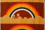 Tampella タンペラ ヴィンテージファブリック SATEENSAARI 虹 131×196