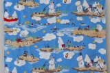 ムーミンヴィンテージファブリック 布団カバー フィンレイソン (118x154)