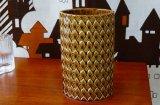 ARABIA アラビア Harlekiini フラワーベース(花瓶)KAARINA AHO(イエロー)21.5cm
