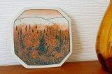 アラビア×フィンエアー ヘルヤ陶板 (秋の紅葉)