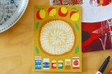 北欧デザイン ポストカード「アップルパイ」A6サイズ