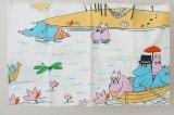 ムーミン ヴィンテージファブリック 枕カバー フィンレイソン BULLS(バカンス)