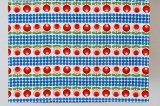 北欧 フィンランド レトロデザインの枕カバー(66×49cm)